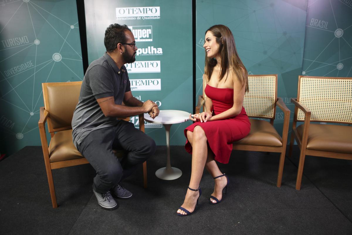 Gabriela Dias bate-papo com Felipe Pedrosa