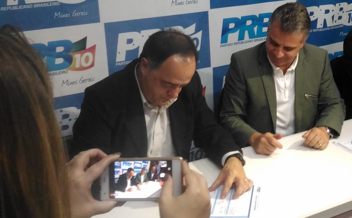 Mauro Tramonte filia-se ao PRB, mas não confirma candidatura